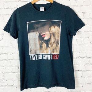 Taylor Swift Red Tee Short Sleeve 2013 T Shirt Pop